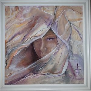 Original Mixed Media painting- The Awakening